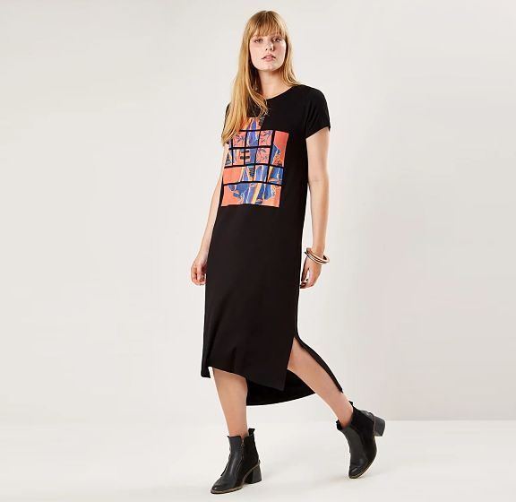 Aprenda a usar o vestido t-shirt no dia a dia