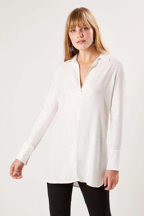 camisa social branca